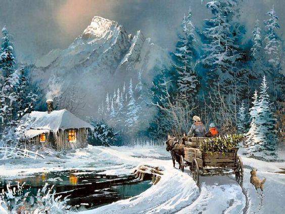 Paysages d'hiver ... 60d94510