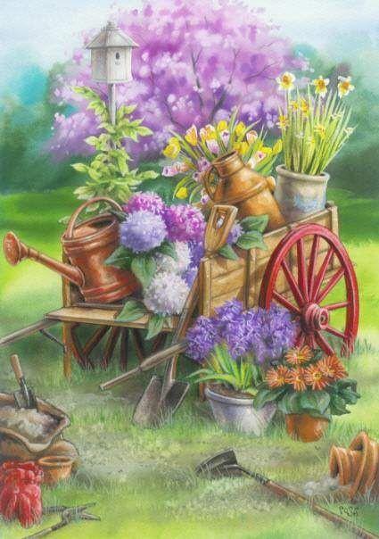 Fleurs printanières  68257010