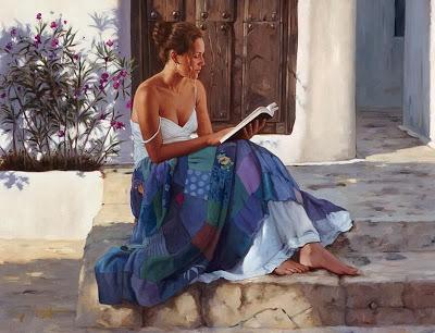 La lecture, une porte ouverte sur un monde enchanté (F.Mauriac) 715-ga10