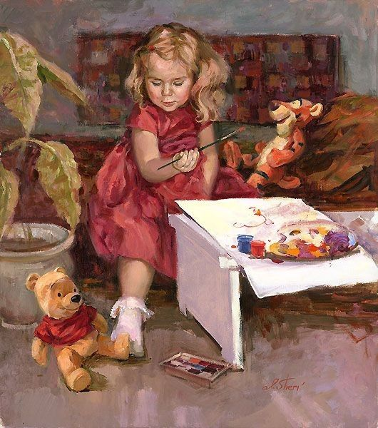 Une peinture pour rêver, voyager, s'émouvoir ...  721c6d10