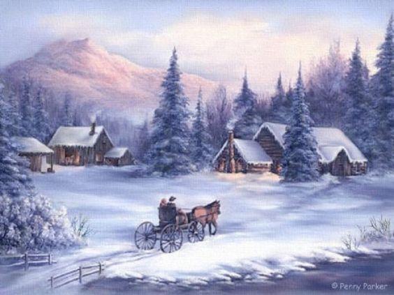 Paysages d'hiver ... 73ddd310
