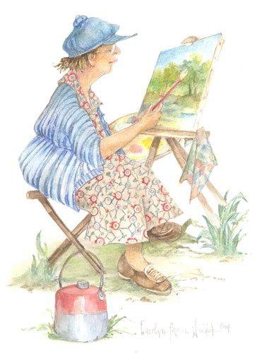 Une peinture pour rêver, voyager, s'émouvoir ...  - Page 2 7b7d4b10
