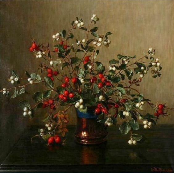 Bouquet dans un vase, une corbeille, une coupe, une poterie  - Page 2 85dea910