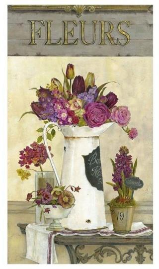 Bouquet dans un vase, une corbeille, une coupe, une poterie  8c85d912