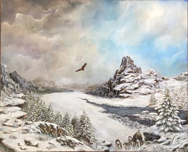 Paysages d'hiver ... 91652210