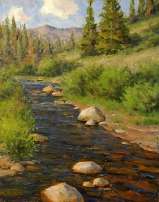 L'eau paisible des ruisseaux et petites rivières  A67db111