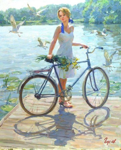 A bicyclette ... Bab7cd10