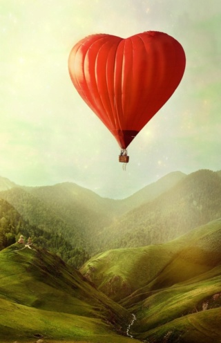 Recueil inédit Voyage au Pays des Rêves ... Voyage en ballon  Ballon11