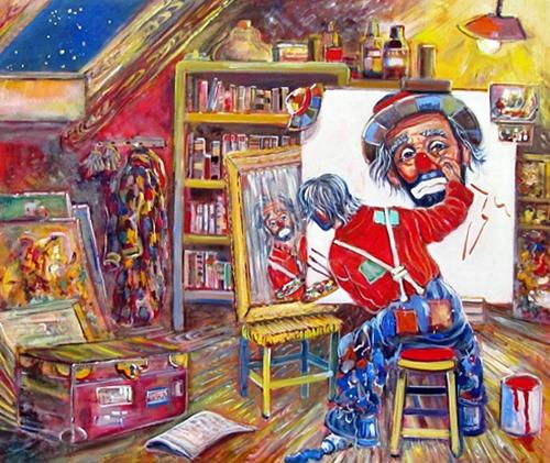 Une peinture pour rêver, voyager, s'émouvoir ...  - Page 2 Beniam12