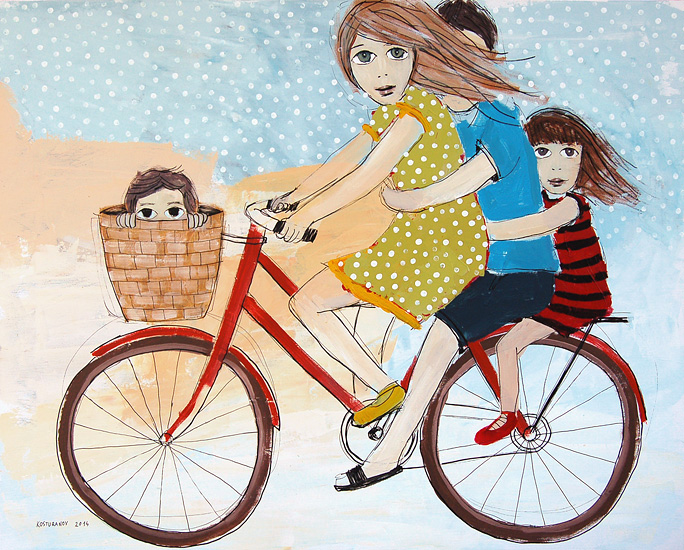 A bicyclette ... Bicycl10