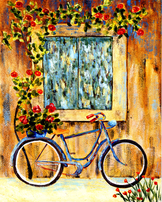 A bicyclette ... - Page 2 Blue_b10