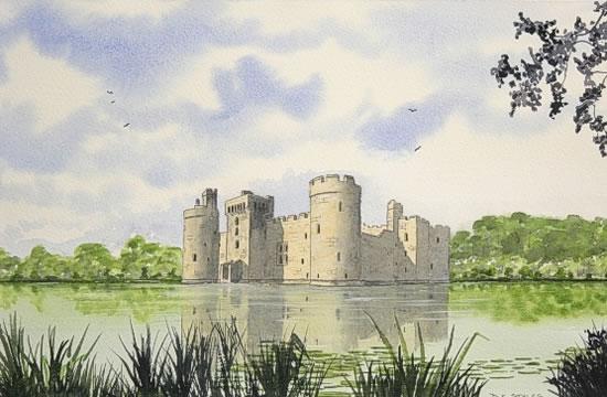 Constructions superbes ... Palais, châteaux, cathédrales et autres édifices - Page 2 Bodiam10