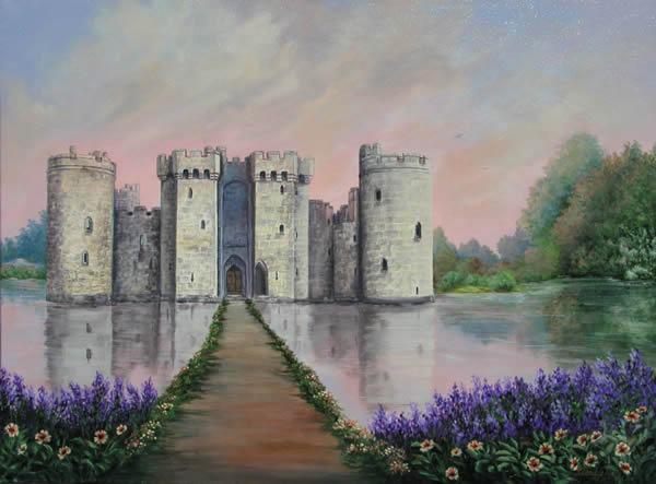 Constructions superbes ... Palais, châteaux, cathédrales et autres édifices - Page 2 Bodiam11