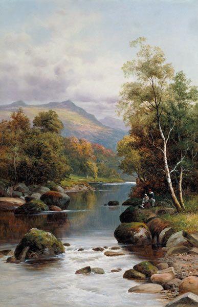 L'eau paisible des ruisseaux et petites rivières  C58de410