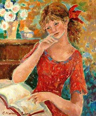 La lecture, une porte ouverte sur un monde enchanté (F.Mauriac) Carmen10