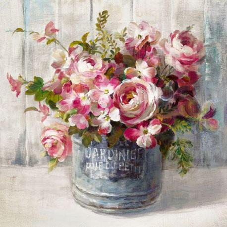 Bouquet dans un vase, une corbeille, une coupe, une poterie  - Page 2 Carte-13