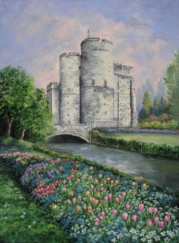 Constructions superbes ... Palais, châteaux, cathédrales et autres édifices - Page 2 Castle10