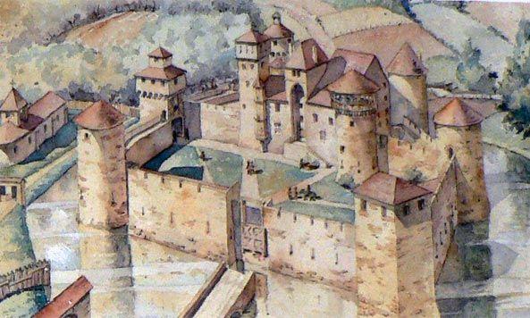 Constructions superbes ... Palais, châteaux, cathédrales et autres édifices - Page 2 Chatea11
