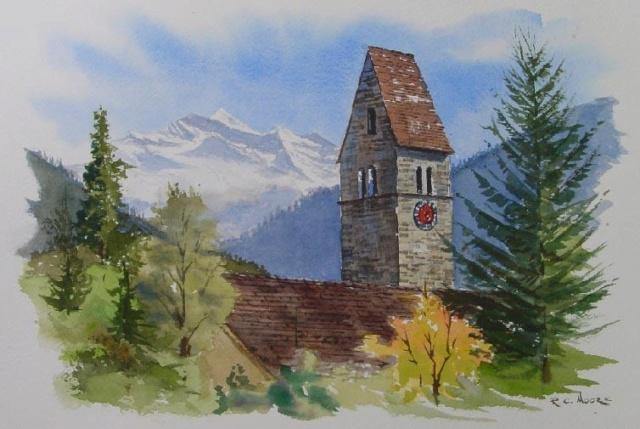 Constructions superbes ... Palais, châteaux, cathédrales et autres édifices - Page 2 Church11