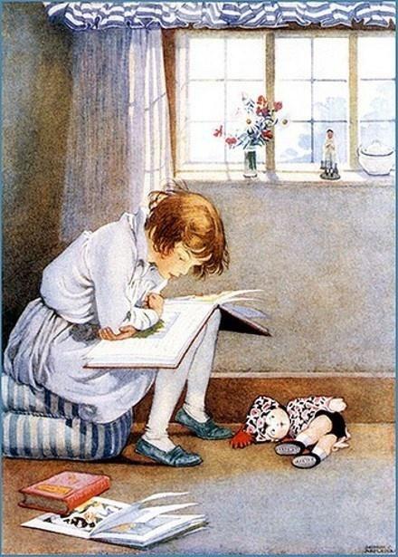 La lecture, une porte ouverte sur un monde enchanté (F.Mauriac) - Page 3 D724c910
