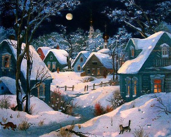 Paysages d'hiver ... E0718910