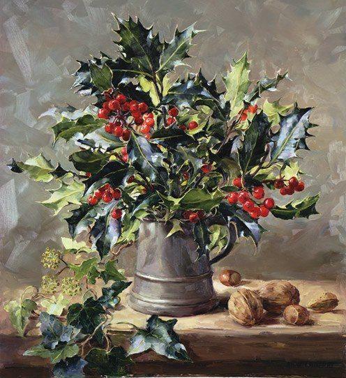 Bouquet dans un vase, une corbeille, une coupe, une poterie  - Page 2 E252cc10