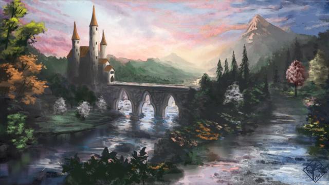 Constructions superbes ... Palais, châteaux, cathédrales et autres édifices - Page 2 Fairyt10