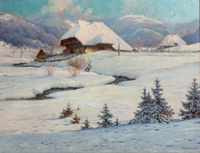 Paysages d'hiver ... Feff4c10