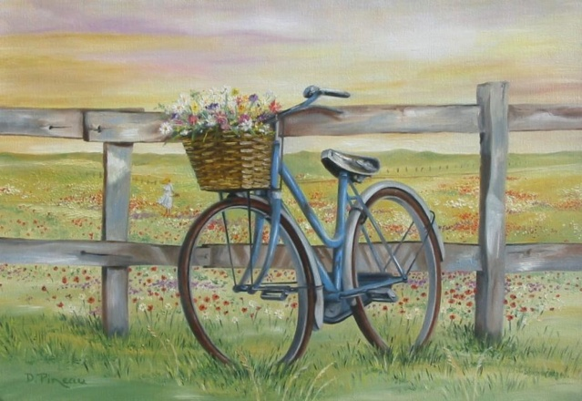 A bicyclette ... G_130811