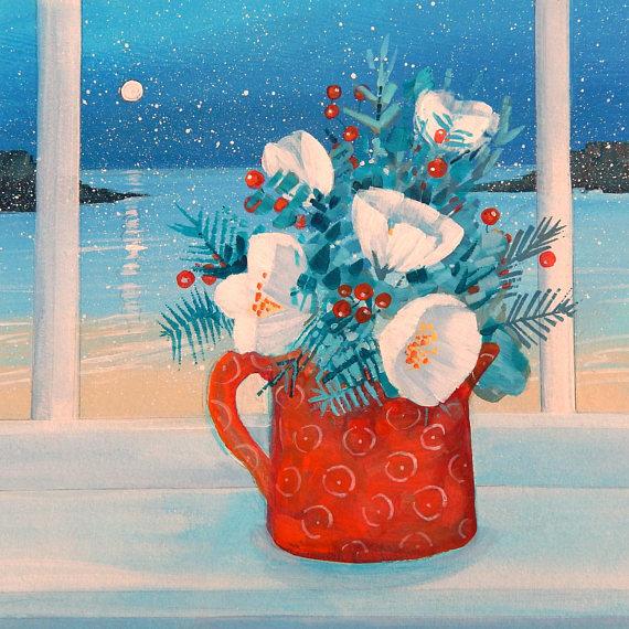 Bouquet dans un vase, une corbeille, une coupe, une poterie  - Page 2 Il_57020