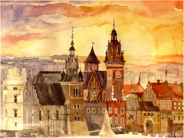 Constructions superbes ... Palais, châteaux, cathédrales et autres édifices - Page 2 Krakow11