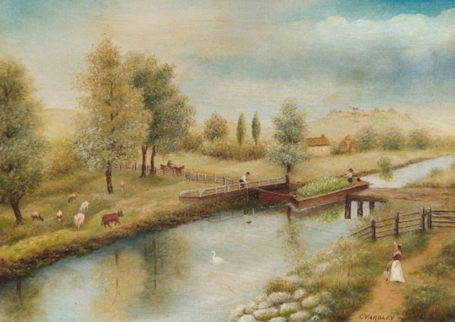 L'eau paisible des ruisseaux et petites rivières  Lne_bc10