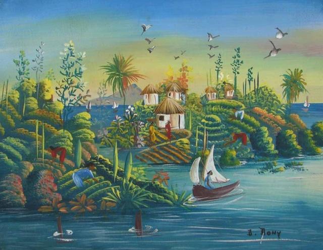 L'Art Naïf ... - Page 2 Peintu10