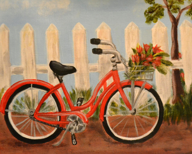 A bicyclette ... - Page 2 Red-bi10
