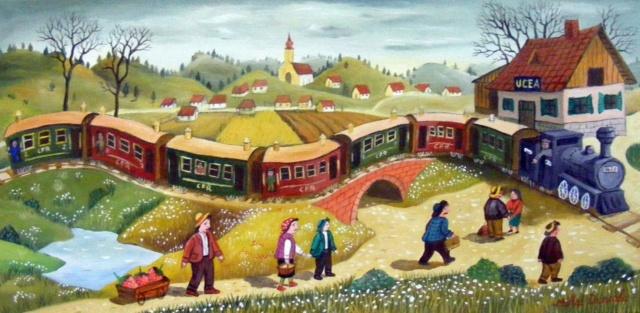 L'Art Naïf ... Tren11
