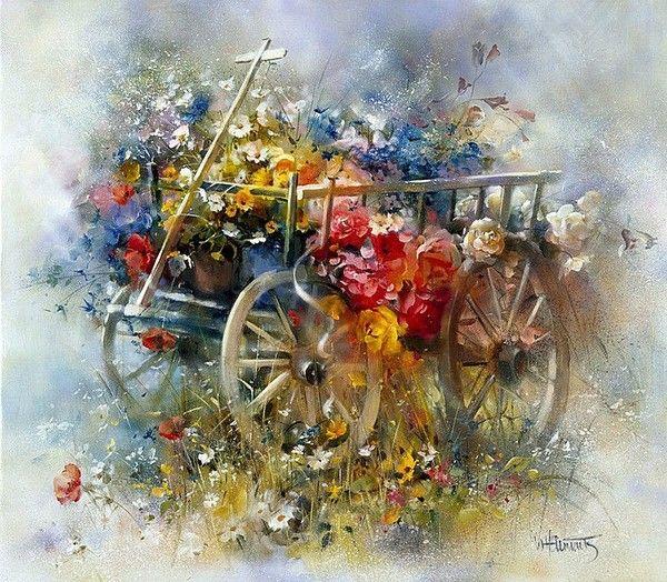 Fleurs printanières  Willem10