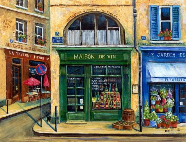 """Des petites """"boutiques"""" ... Wine-a10"""