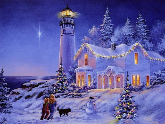 Les phares veillent ... - Page 2 Winter15