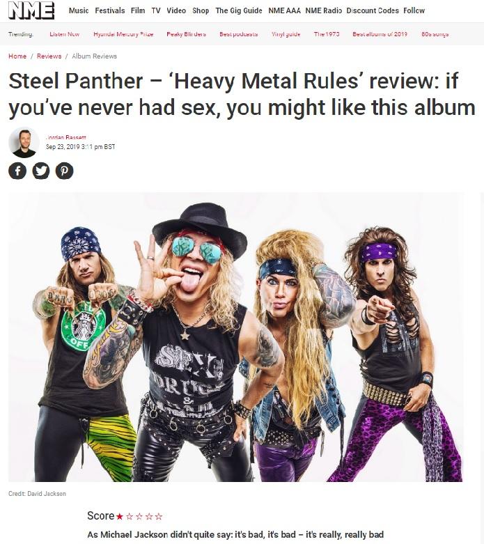 STEEL PANTHER, CACHONDEO METAL - Página 7 011070