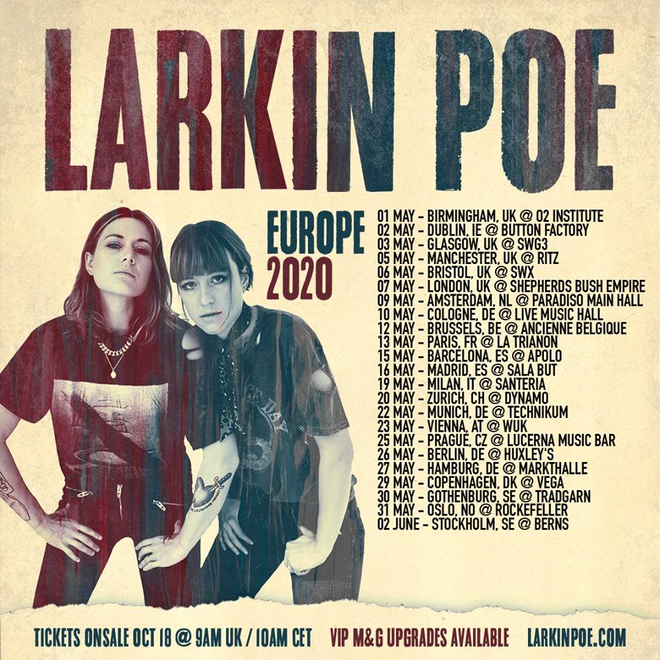 Las hermanas sureñas - Larkin Poe 011095