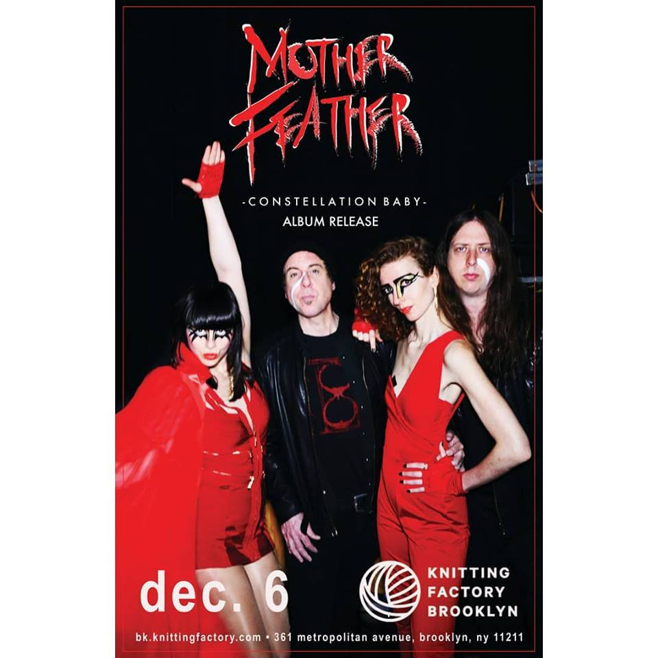 MOTHER FEATHER, the ultimate New York band 0131