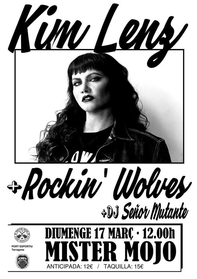 KIM LENZ: ¡vuelve la reina pelirroja del rockabilly! 01523