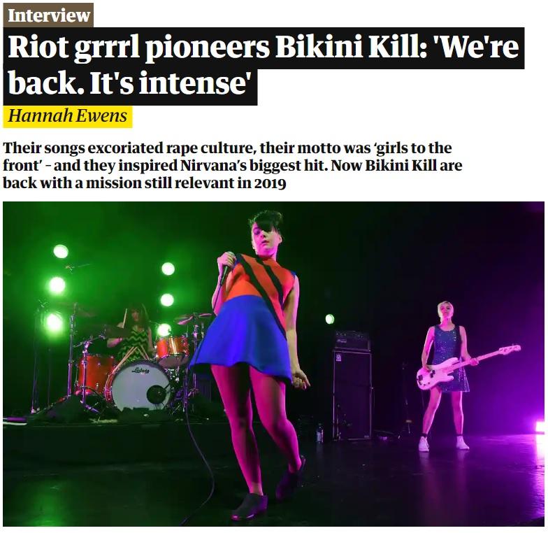Bikini Kill: el topic 01845