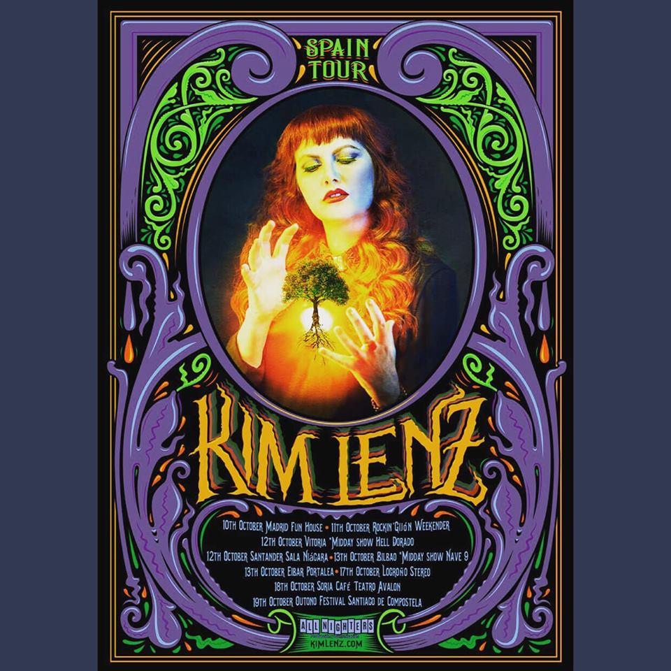 KIM LENZ: ¡vuelve la reina pelirroja del rockabilly! - Página 2 01949