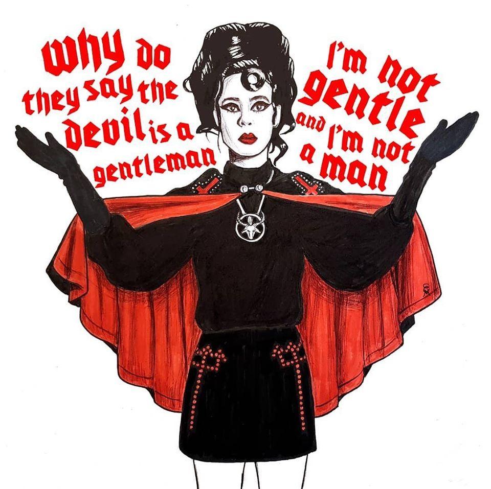 Twin Temple -  Doo Wop satánico y feminista de L.A. 1c180