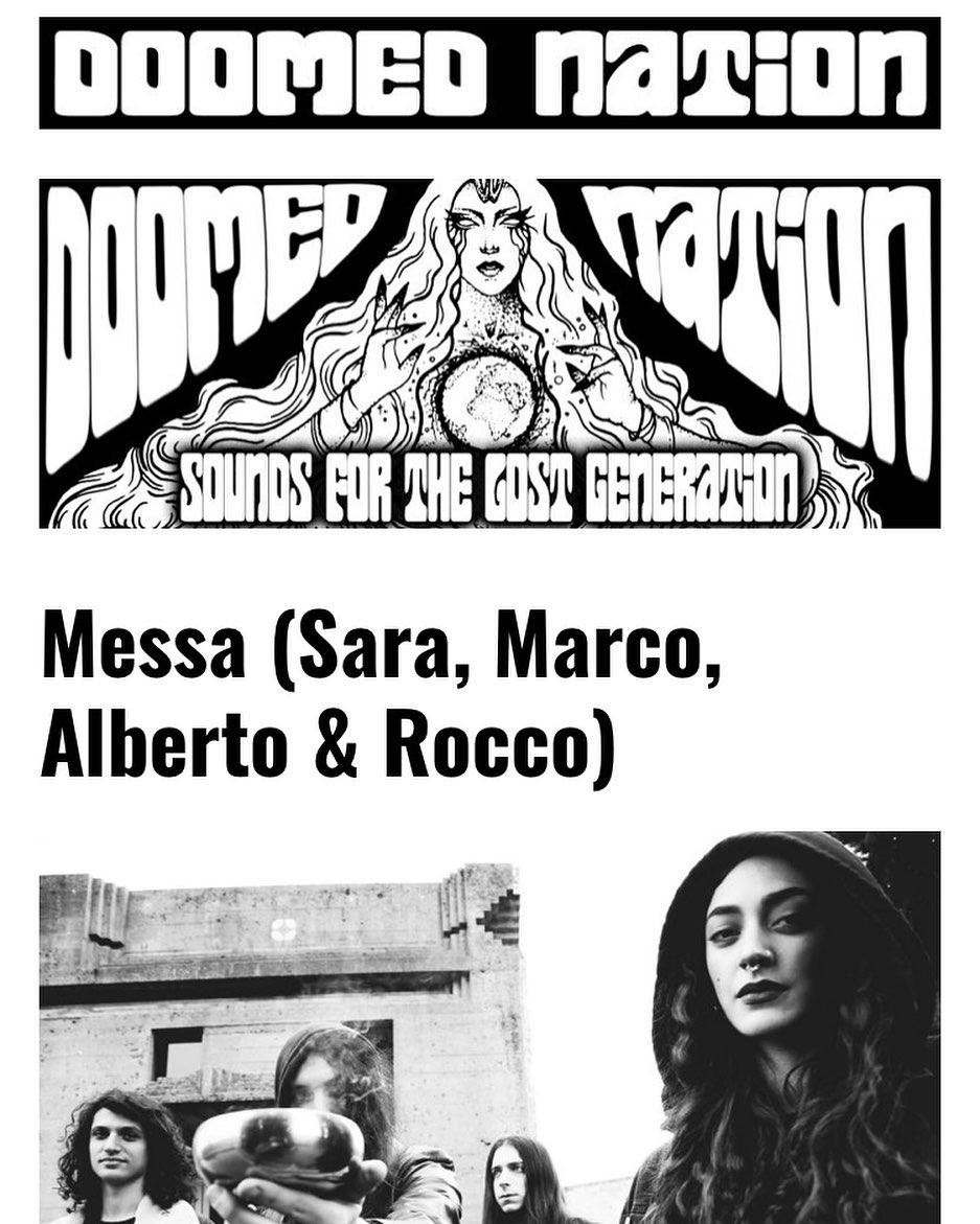 Messa - Feast for Water (2018) doom, jazz, blues, heavy ... desde Italia 1f35