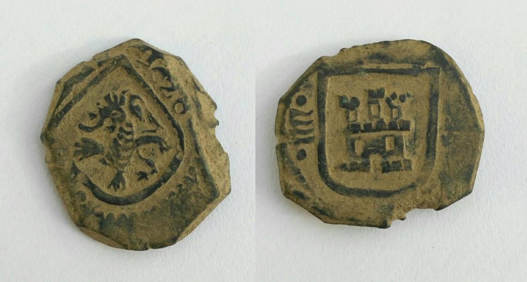 8 maravedis de Valladolid de Felipe IV, 1626. Img_2055