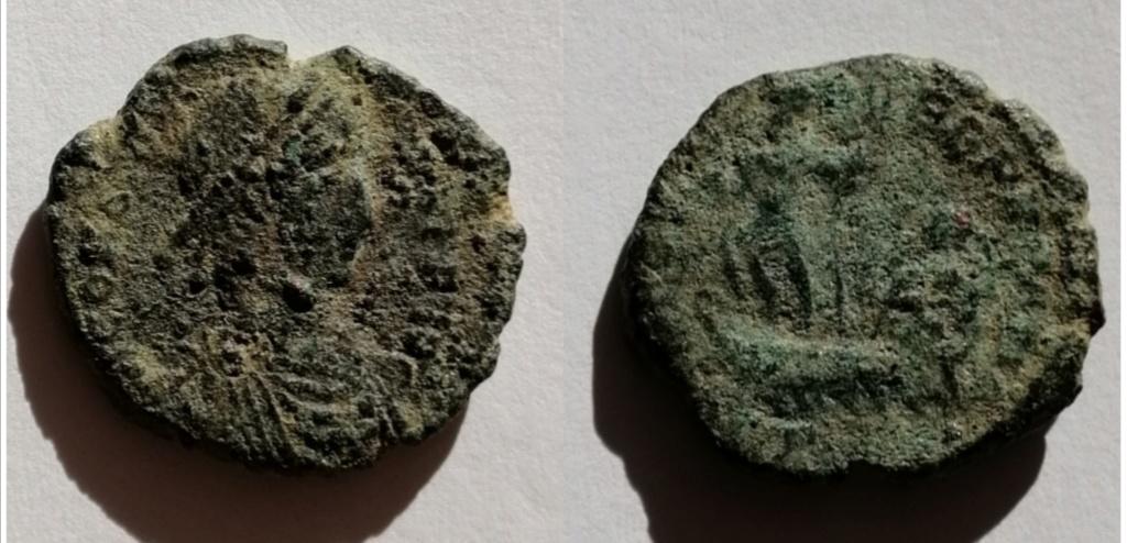 AE3 de Constancio II. FEL TEMP - REPARATIO. Emperador en galera.  Img_2087