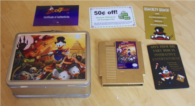 Duck Tales NES Golden Cartridge Ultra Limited Duck_t11