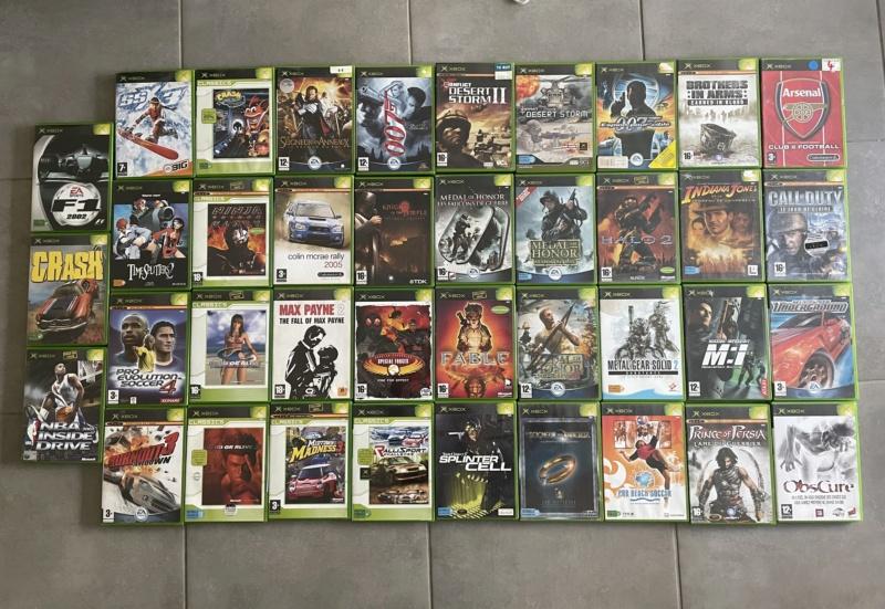 [Vds] lot 45 jeux Xbox 1ère génération Img_7811
